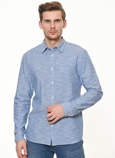 Wrangler Gömlek Mavi